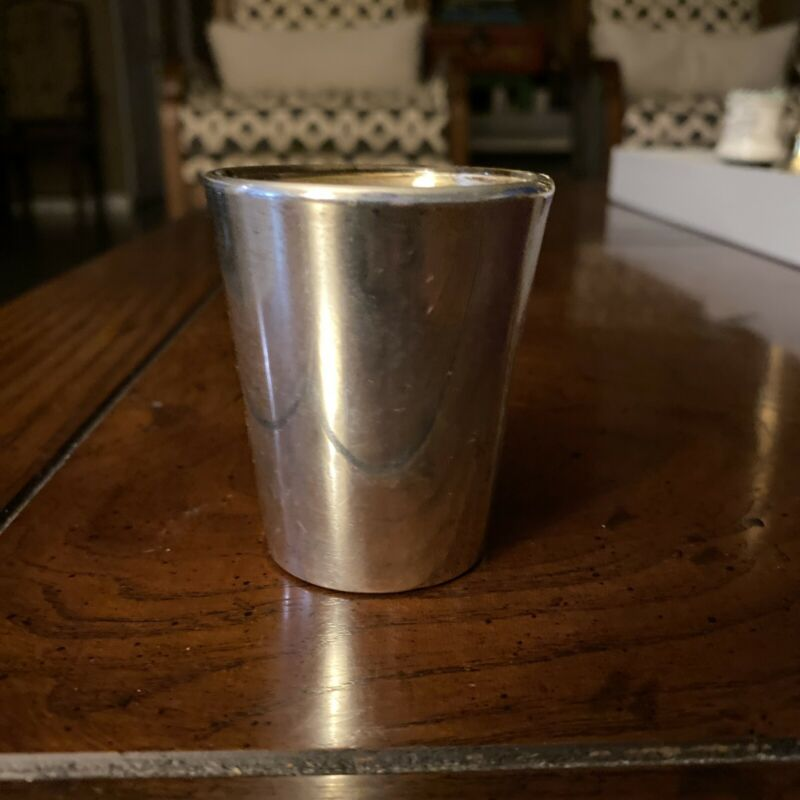 Reed & Barton X77 Sterling Silver Jigger Libby Shot Glass No Monogram