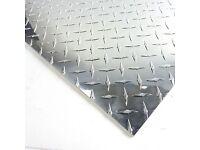 ".063 Aluminum Diamond Tread Plate 3.5/"" x 60/"""