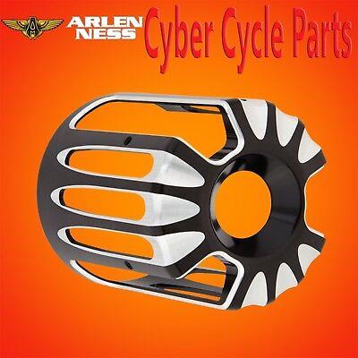 Arlen Ness Oil Filter Spread over Deep Cut Black Contrast for Harley Davidson 03-487