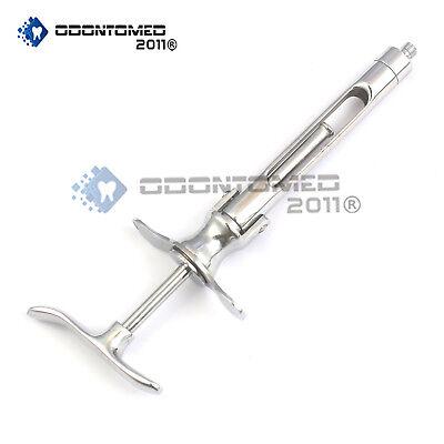 Cartridge Aspirating Syringes 1.8cc Dental Surgical Instruments