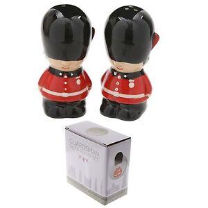 Guardsman london design salt and pepper cruet set shakers Designer salt and pepper shakers