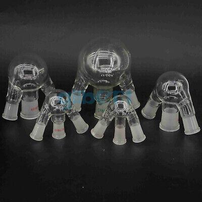 1025501002505001000ml 3 Necks Joint Gg17 Glass Flask Round Bottom Lab