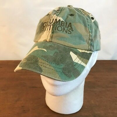 Columbia Cotton Hat - Columbia Partitions Camouflage Cotton Strapback Baseball Cap Hat (CH14)