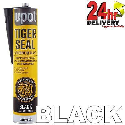 U-Pol Tiger Seal PU Adhesive Sealant BLACK Windows/Bond/Body Panels