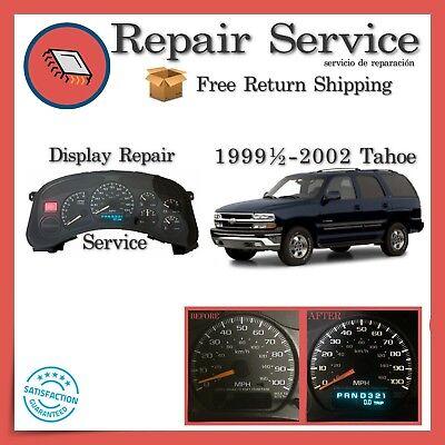 ✅ CLUSTER SPEEDOMETER REPAIR | Chevrolet Tahoe 1999 2000 2001 2002 | 99 00 01 02