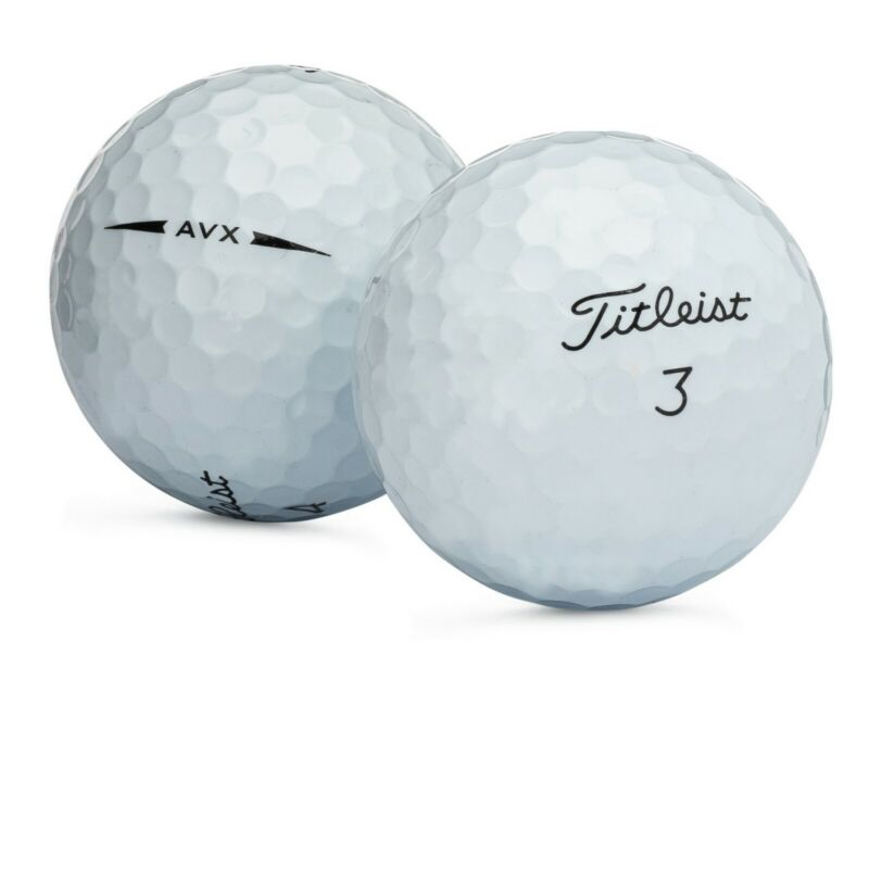 48 Titleist AVX Used Golf Balls Near Mint Refinished AAAA Free Shipping