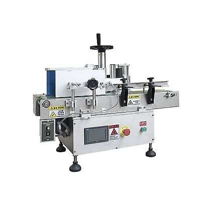 220v Table-top Round Bottle Labeler 20-30pcsmin Labelling Machineconveyor