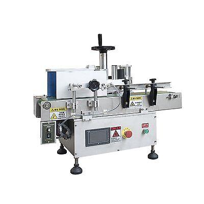 220v Table-top Round Bottle Labeler 20-30pcsmin Labelling Machineconveyor