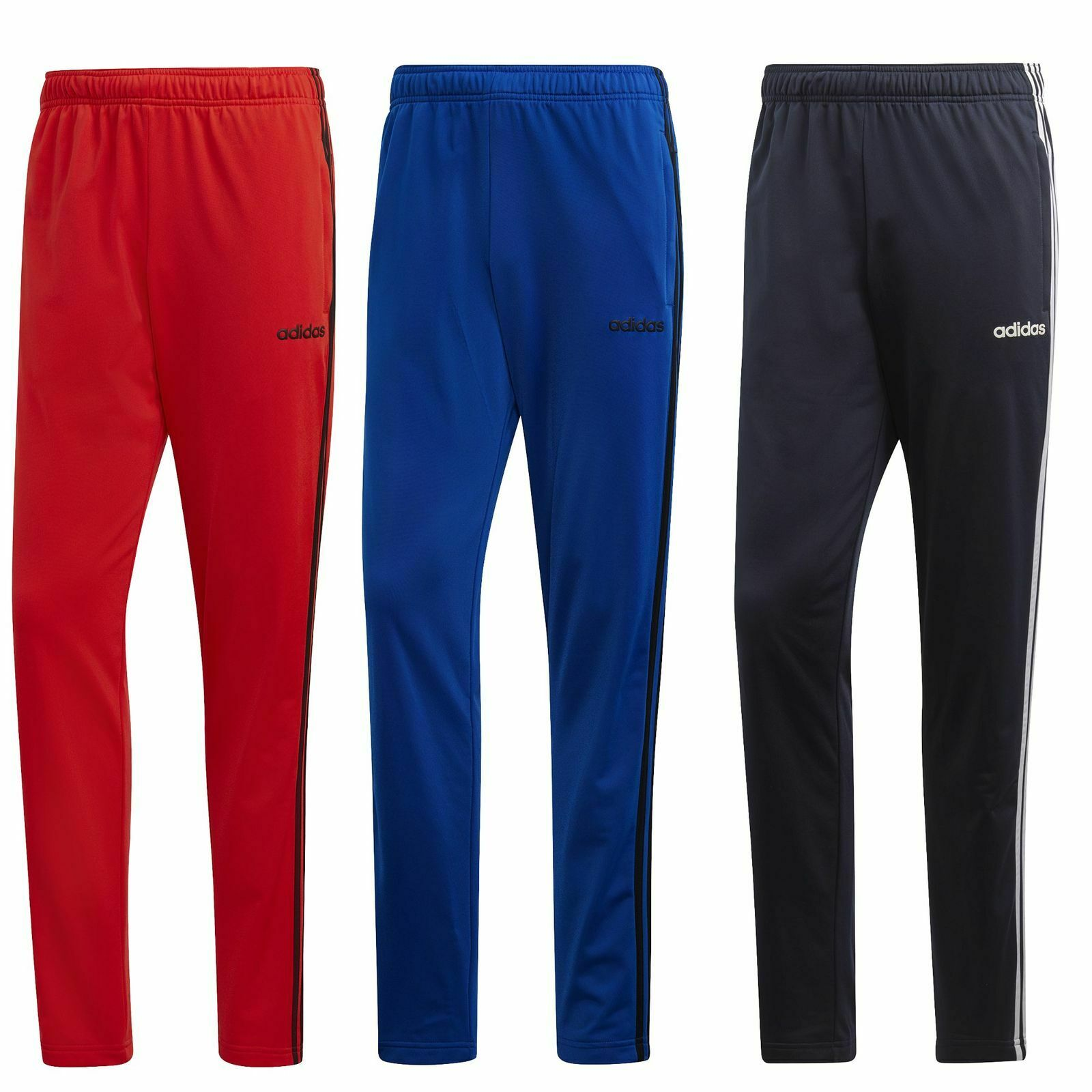 a689be658773ed adidas Jogging Hose Herren 3 Streifen Sporthose Männer Trainingshose Stoff  lang