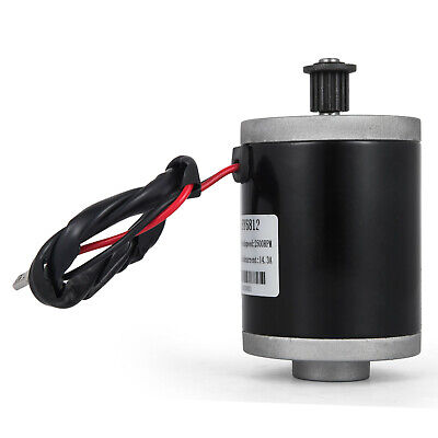 Electric Motor 12v Dc Motor With Belt Pulley 150w Shaft 8 Mm Soap-box Windmills