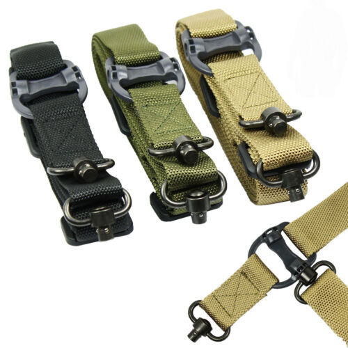 "Retro Tactical QD Quick Detach 1 or 2 Point Multi Mission 1.2"" Nylon Rifle Sling"