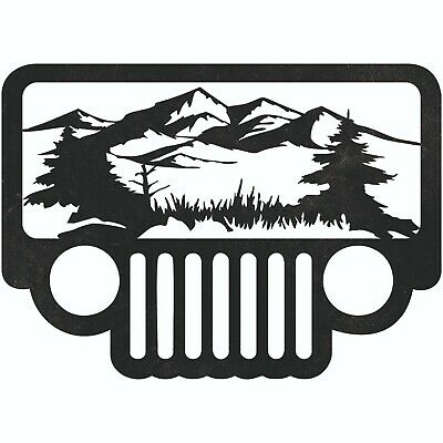 Jeep Scene Dxf Sign Plasma Laser Waterjet Router Plotter Cut Vector Cnc Cars
