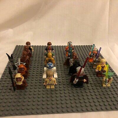 LEGO Star Wars Minifigures-  You Pick; Jedi Yoda Luke Skywalker Sith Darth Vader