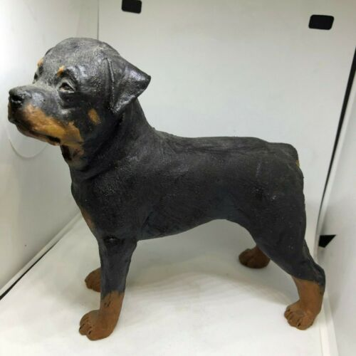 STANDING ROTTWEILER-SIGNED M WALL