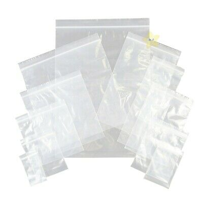 500 x Grip Seal Resealable Poly Bags 6