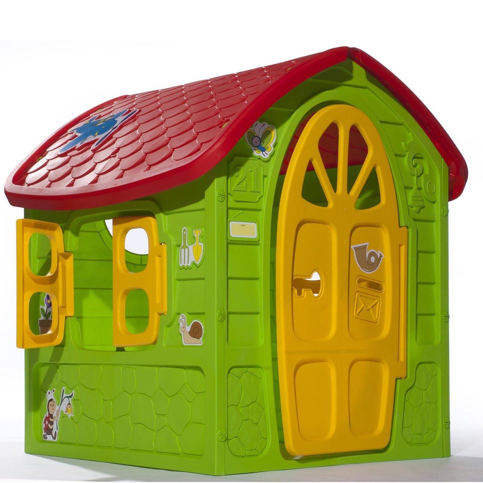XXL Spielhaus für Kinder Gartenhaus Kinderspielhaus Kinderhaus bunt