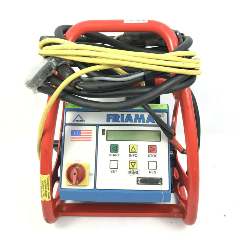Friatec Friamat Electrofusion Machine Plastic Pipe Fusion 110v US