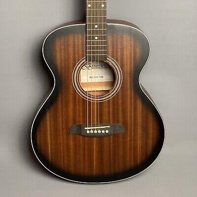 NEW: Brunswick BF200TB Grand Auditorium Acoustic Guitar 🎸 Tobacco Burst Satin