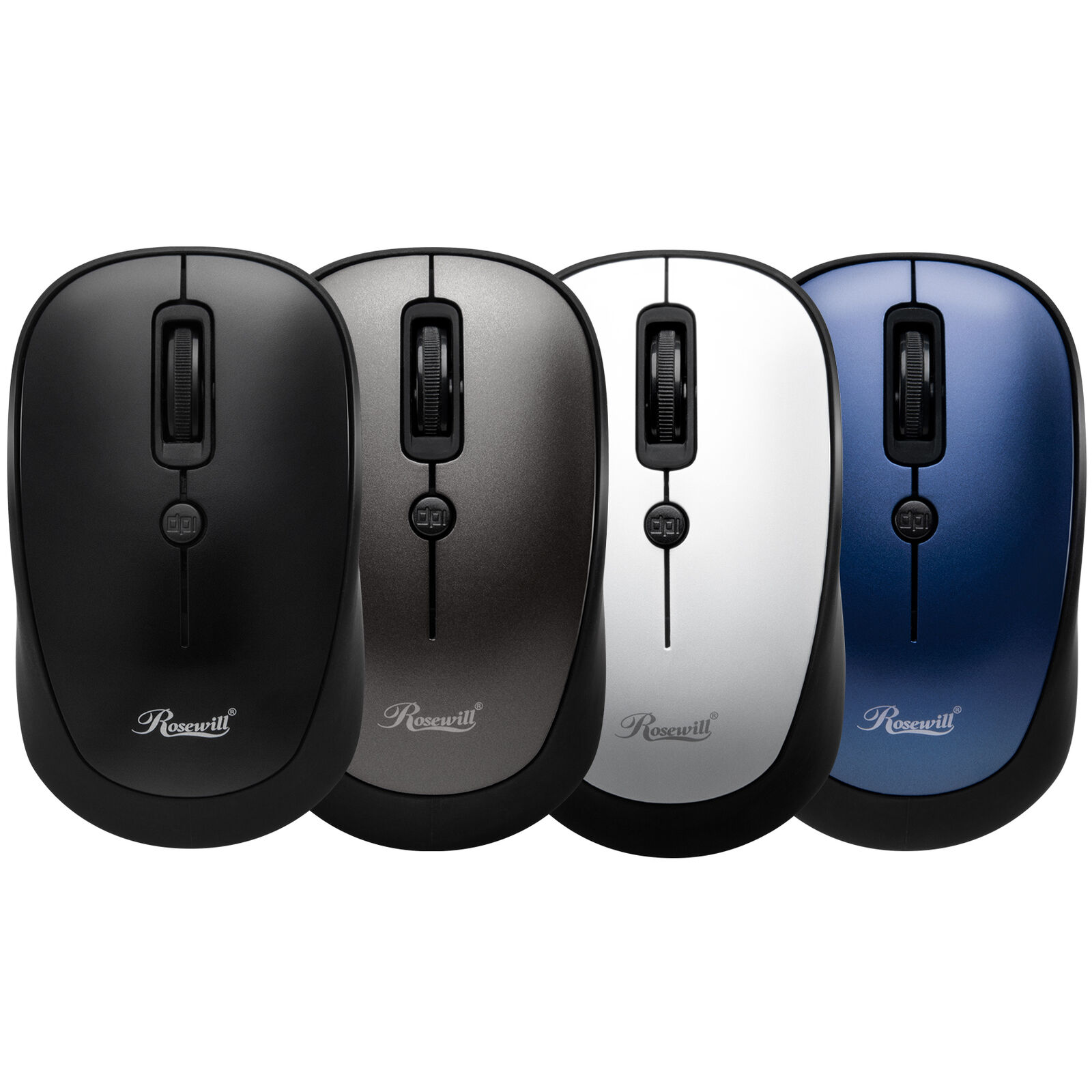 Rosewill Wireless Mouse, Optical Computer Mouse, Compact Siz