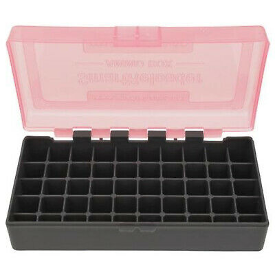 Top Ammo Box - Ammo Box - Holds 50 Rounds of .41 .44 Magnum / Special 45 Colt - PINK TOP