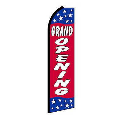 Grand Opening Stars Swooper Flag