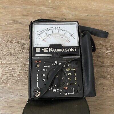 Kawasaki Branded Tmk Multimeter Model Vf-4-2k Ct Future Elec. Japan No Leads