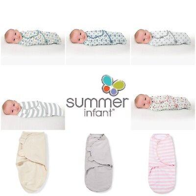 7-14lb 100% Cotton Baby Swaddle Me Swaddling Wrap Blanket Sleeping Bag