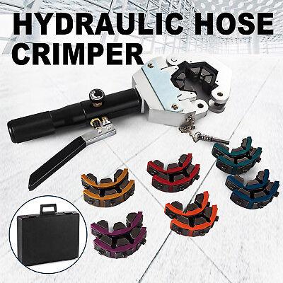 71500 Ac Hose Crimper Tool Kit Manual Hydraulic Crimper Portable Crimping