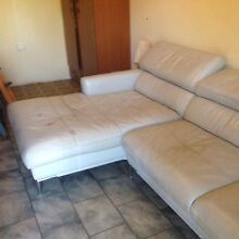 Used leather chaise lounge in good condition Condell Park Bankstown Area Preview