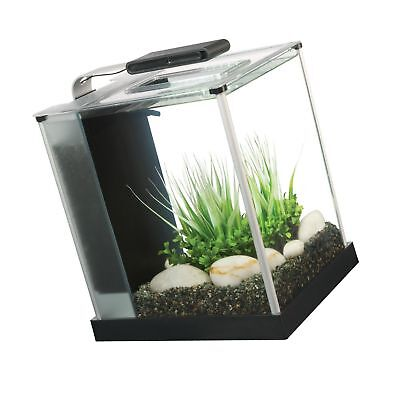 Fluval Spec III Aquarium Kit, 2.6-Gallon Black Standard Pack... NO SALES TAX NEW