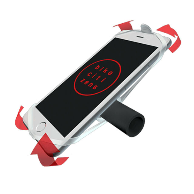 Bike Citizens Finn Smartphone Holder Silicone Bike Mount - Fits ANY Handlebar