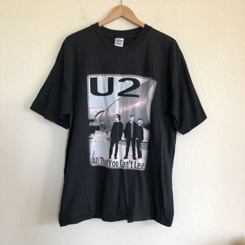 U2 Concert Tour T Shirt Vintage 2001 All That You Can