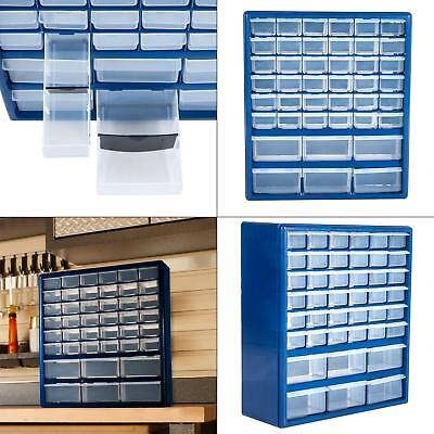 42 Drawer Hardware Storage Box Container Crafts Beads Nuts B