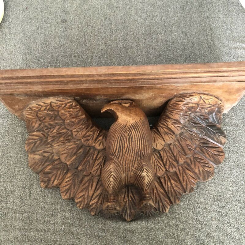Vintage Eagle Shelf