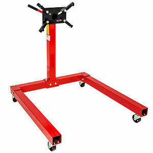 Heavy duty swivel head folding transmission car engine mount support stand 570kg