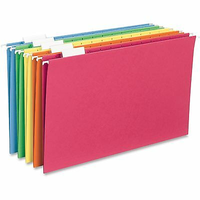 Sparco Hanging Folder 15 Tab Cut Legal 25bx Assorted Sp5315ast