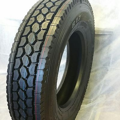10-tires 11r24.5 8 Drive 2 Steer Tires New Road Warrior 16 Ply Truck Tires