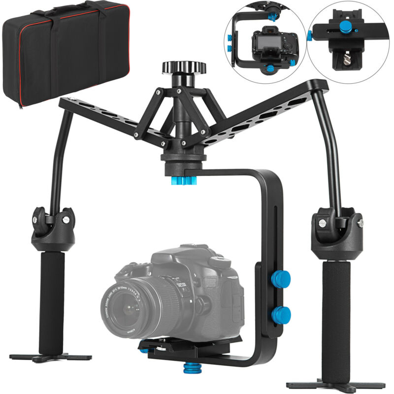 Handheld Stabilizer Video Spider Gimbal Canon Nikon Steadicam For DSLR Camera