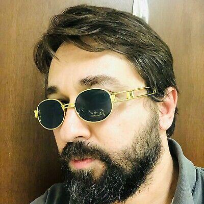 Mens Sunglasses Hip-Hop Buffs Migos Metal Quavo Shades Gold Frame Clear Glasses
