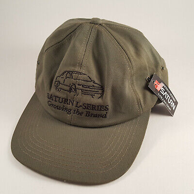 RARE Saturn Car Company Dealer L Series Hat Embroidered New with Tag - FREE SHIP Saturn Car Dealer