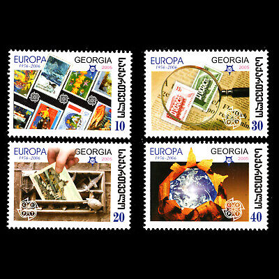 Georgia 2006 - 50th Anniversary of the First Europa Stamp - Sc 390/3 MNH