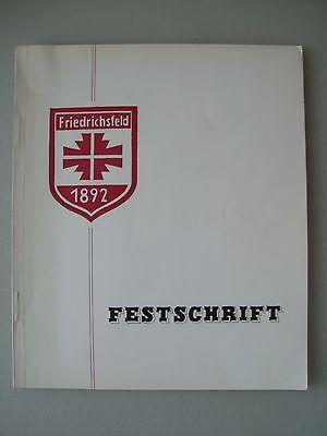 Festschrift Friedrichsfeld 75 Jahre Turnverein 1967
