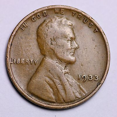 1933 Lincoln Wheat Cent Penny Lowest Prices On The Bay   Free Shipping
