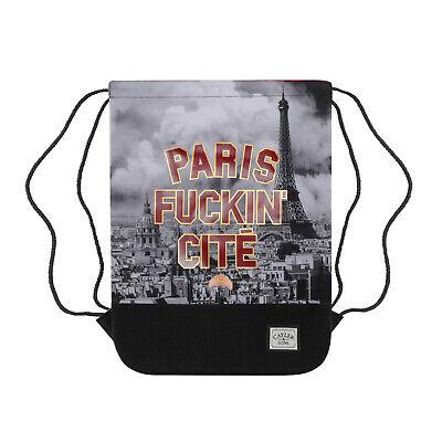 CAYLER & SONS C&S GYM BAG Paris Skyline Bedstudy Gymbag Turnbeutel Backpack Bags