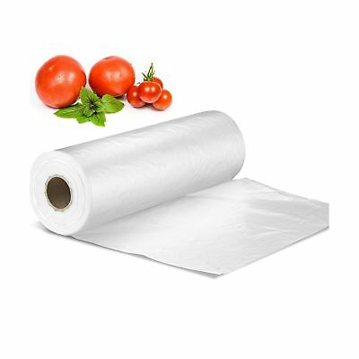 12 X 16 Plastic Produce Bag On A Roll Bread And Grocery Clear Bag 350 Bag...