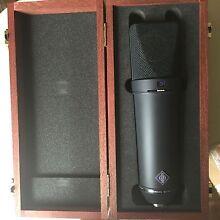 Neumann U87 Ai Condenser Studio Microphone (Black) (MINT) Cheltenham Hornsby Area Preview