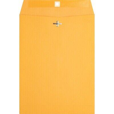 Brown Kraft Catalog Clasp Envelopes Gummed Seal 9 X 12 25 Each