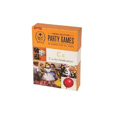Lagoon Ladybird Vintage Collection 50 Party Games Box Family Kids Gift Idea](Ladybug Party Ideas)
