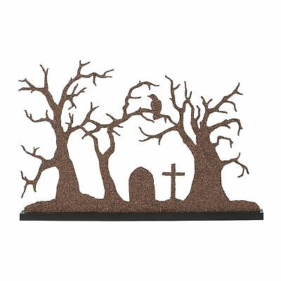Department 56 Halloween Village 2019 (Department 56 Halloween Silhouette New 2019 6003300 Village Backdrop)