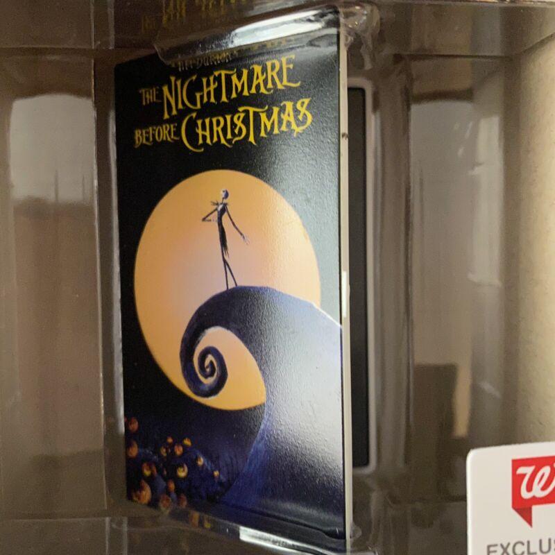 HALLMARK 2021 NIGHTMARE BEFORE CHRISTMAS VHS Walgreens Red Box Ornament